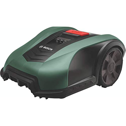 Bosch Roboter Rasenmäher Indego M+ 700 (mit App-Funktion, 19 cm Schnittbreite, für Rasenflächen...