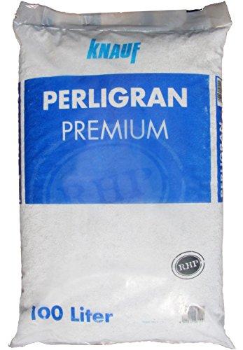 Knauf Gartenbau Perlite Perligran 2-6 mm 100 L • zur Erden- und Substratverbesserung • für...