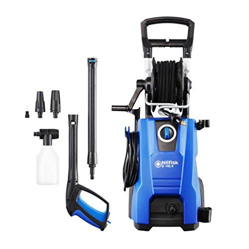 Nilfisk D 140 bar D 140-9 X-TRA UK Hochdruckreiniger für Haushalt, Außenbereich, Autowäsche und...