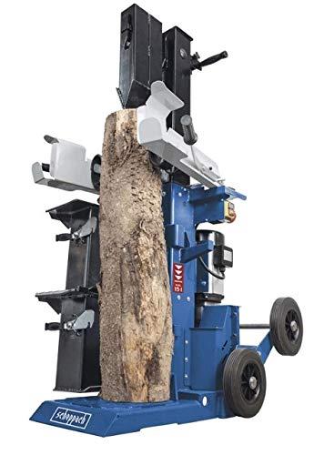 Scheppach Holzspalter HL1500TWIN 15 t stehend 4,1 kW 400 V 4 Räder bis 1330 mm