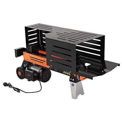 FUXTEC Holzspalter 6,5 t FX-HS6500 liegend mit 230V Hydraulikspalter Langholzspalter...
