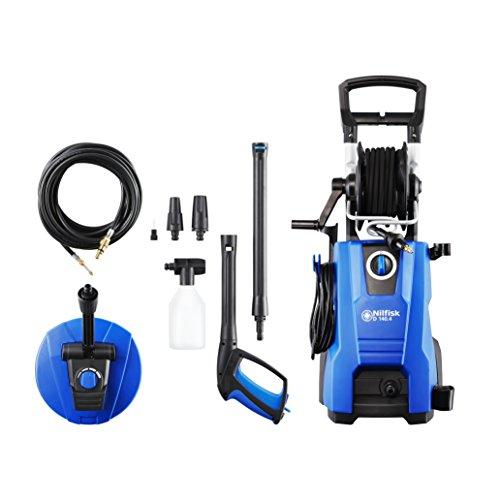 Nilfisk D 140 bar 140,4 -9 DP X-TRA Hochdruckreiniger für Haushalt, Außenbereich, Autowäsche und...