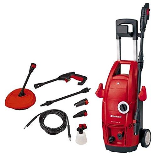 Einhell TC-HP 1538PC Hochdruckreiniger, elektrisch 380L/H 1500W, Farbe rot, 5m Reichweite,...