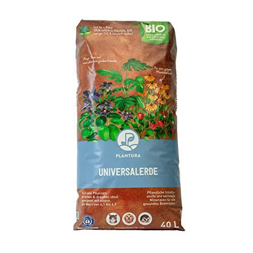 Plantura Bio Universalerde, 40 L, torffrei & klimafreundlich, vorgedüngt