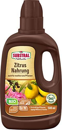 Substral Naturen Bio Zitrus und Mediterrane Pflanzen Nahrung, Organisch-mineralischer...
