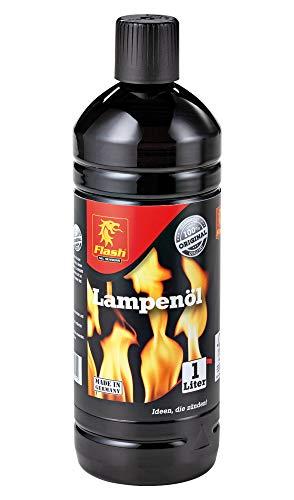 Flash Lampenöl 1L neutral klar Petroleum-Lampen Garten-Fackel Öl-Laterne