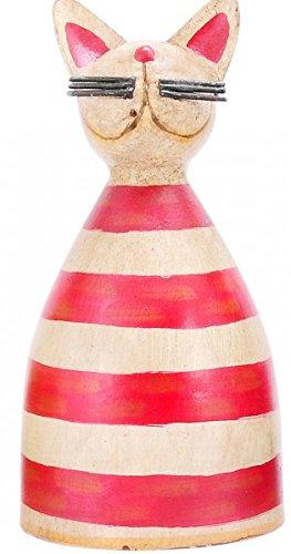 KUHEIGA Zaunhocker Zaungast Katze Kater Metall Gartenfigur Figur