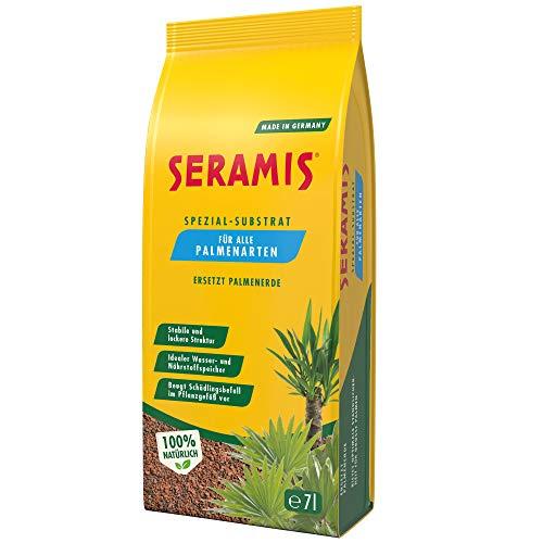 Seramis Spezial-Substrat für Palmen, 7 l – Pflanzen Tongranulat, Palmenerde Ersatz zur Wasser-...