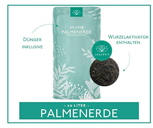 Cuxin Blumenerde für Palmen | 20l | Erde mit 100 Tage organischem Dünger (Palmenerde, 20 L)