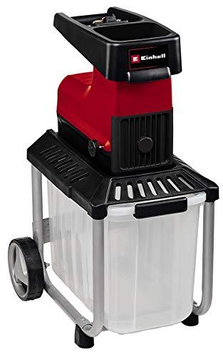 Einhell 3430635 GC-RS 60 CB Elektro-Leisehäcksler, rot/schwarz