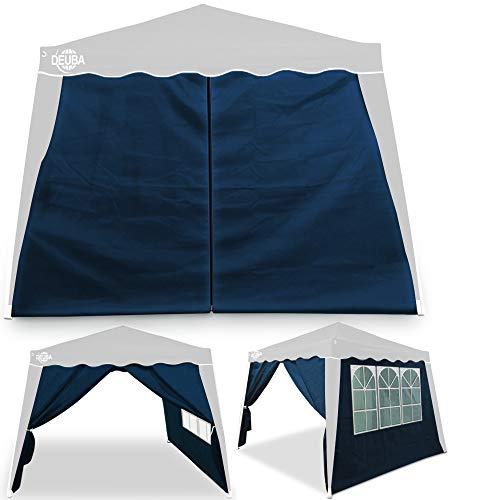 Deuba® 2X Seitenwand Pavillon für 3x3m Capri wasserabweisend Faltpavillon Pop Up Partyzelt...
