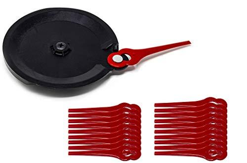 Grizzly 40 Kunststoffmesser und Schneidscheibe Akku Rasentrimmer CT 1800 Li