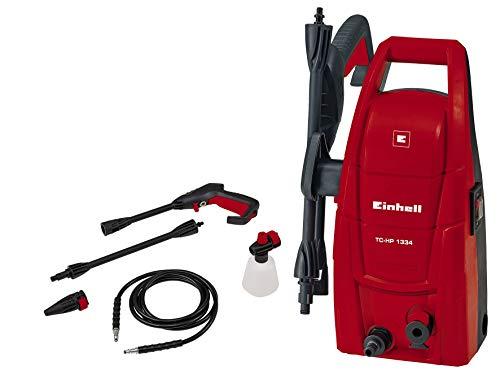 Einhell Hochdruckreiniger TC-HP 1334 (1300 W, max. 100 bar, 5,7 l/min, max. 40 °C, 3 m Schlauch,...