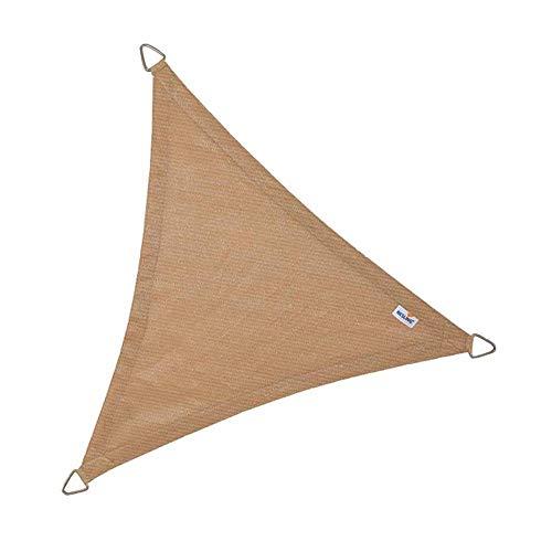 Coolfit Sonnensegel Dreieck sand 5 x 5 x 5 m