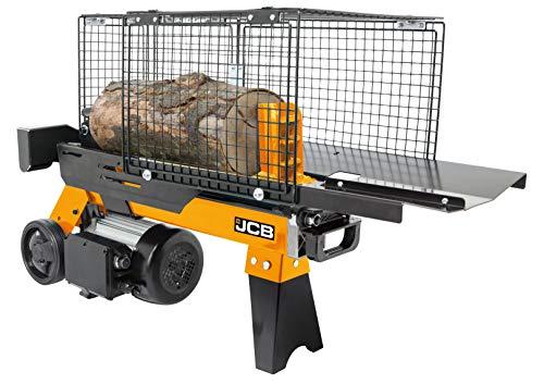 JCB Holzspalter hydraulisch 4 Tonnen Spaltkraft (1500 Watt, 2 PS, 4t, 230 V, Spaltdurchmesser Ø 250...