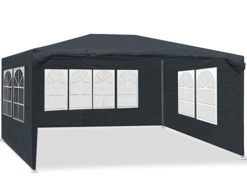 Deuba Festzelt Maui 3x4m 12 m² Pavillon Seitenwände wasserabweisend UV-Schutz 50+ Partyzelt...