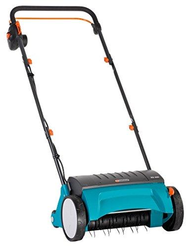 Gardena Elektro-Rasenlüfter ES 500: Vertikutierer mit Arbeitsbreite 30 cm, Rasenfläche bis 600...