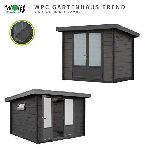 Wolff Finnhaus Gartenhaus I Gerätehaus aus WPC I 287 x 234 cm I Modell: Trend C