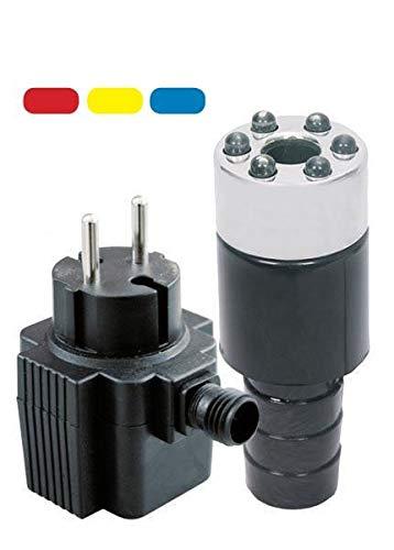 Quellstar 600 LED, Farbwechsel - Komplett-Set für Gartenbrunnen
