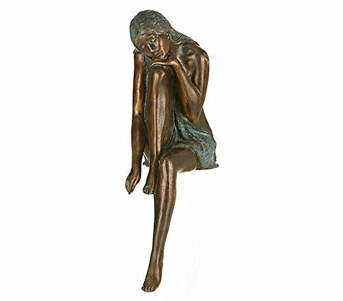 Rottenecker Gartenfigur Emanuelle, Bronze, Höhe: 40 cm