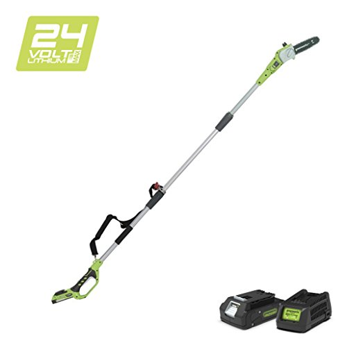 Greenworks 24V Akku-Hochentaster 20cm inklusive 2Ah Akku und Ladegerät - 2000107VA