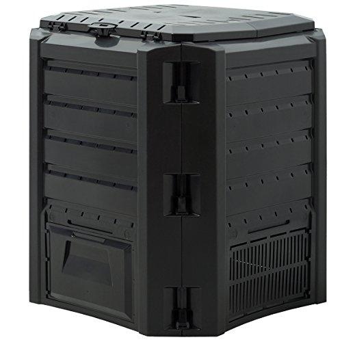 Komposter 380L Weitere Größen: 800L 1200L 1600L Einzelmodul: 72 x 72 x 83cm witterungsbeständig...