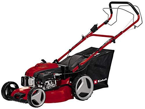 Einhell Benzin-Rasenmäher GC-PM 46/2 S HW-E (für bis zu 1.400 m², Highwheeler, 4-Takt-Motor mit...