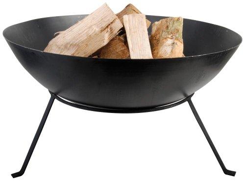 Esschert Design Feuerschale, Feuerschüssel, mit Beinen, freistehend, ca. Ø 59 cm x 35 cm hoch