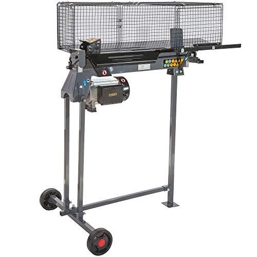 STAHLMANN® Hydraulik-Holzspalter, 7 Tonnen Spaltkraft, inkl. Tisch, stufenlos verstellbarer...