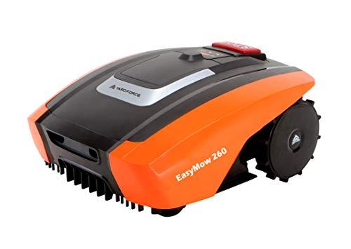 Yard Force Mähroboter EasyMow260 für geeignet für bis zu 260 qm-Selbstfahrender Rasenmäher...