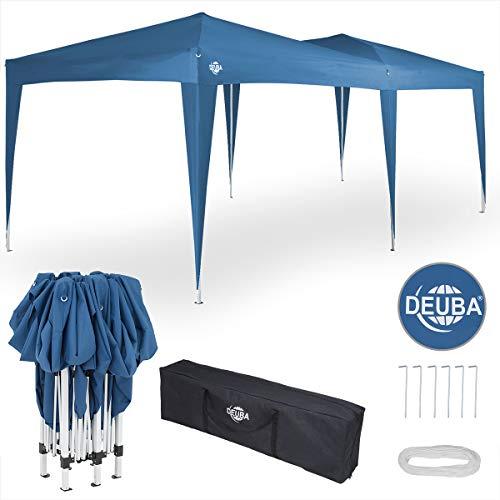 Deuba® Pavillon Capri 3x6m wasserabweisend Pop-Up inkl. Tasche UV-Schutz Faltpavillon Gartenzelt...