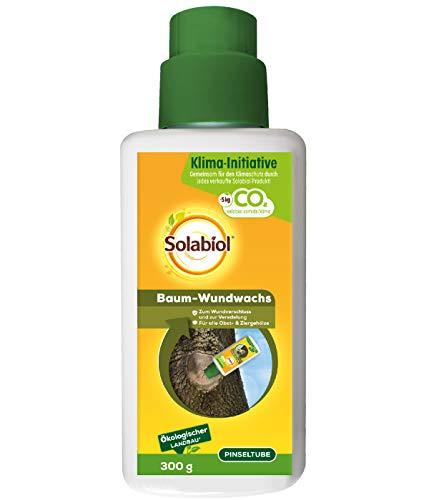 Solabiol Baum-Wundwachs, zum Wundverschluss und zur Veredelung von Obst- und Ziergehölzen, schützt...