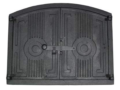 Ofentür Backofentür Holzofentür Pizzaofentür Gusseisen Steinofentür 49 x 38,5 cm