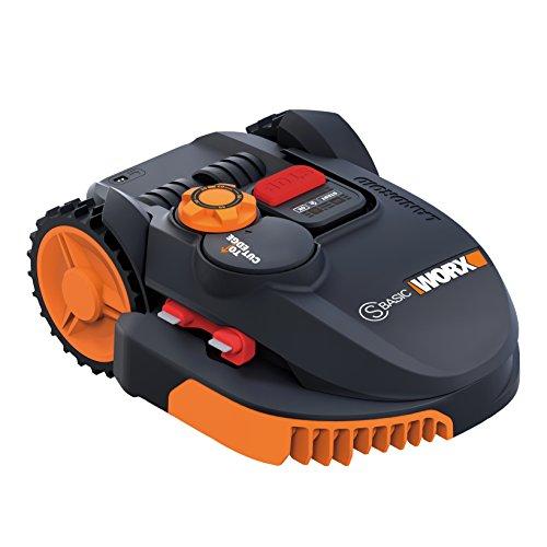 Worx Landroid, elektrischer Rasenroboter, batteriebetrieben mit 20 V, 3 bewegliche Klingen,...