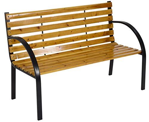 Lesli Living Bank Gartenbank Woodstock 120 cm max. Tragegewicht 150kg