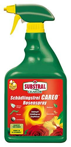 Celaflor Schädlingsfrei Careo Rosenspray, anwendungsfertiges Mittel mit schneller Wirkung gegen...