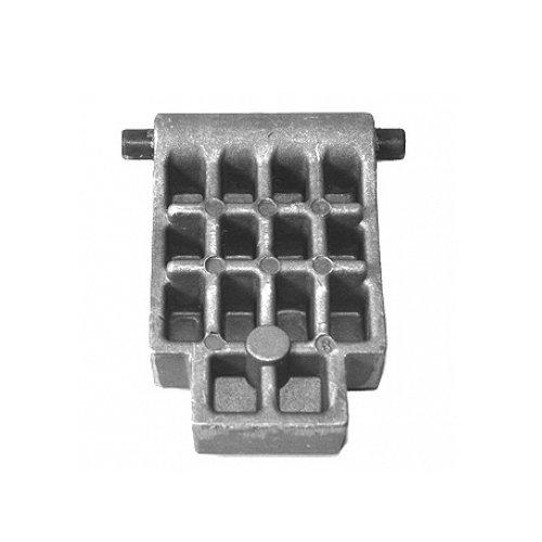 ATIKA Ersatzteil | Gegenplatte für Gartenhäcksler ALA 2500 / ALH 2500 / LH 2500 / SSD 2400 E
