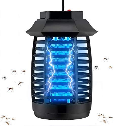 Koqit Insektenvernichter Elektrisch, Schutz vor Elektrischem Schlag Tragbare UV Mosquito Killer für...