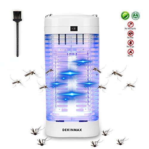 DEKINMAX Insektenvernichter,UV Insektenvernichter 18W Elektrischer Insektenvernichter Mückenfalle...