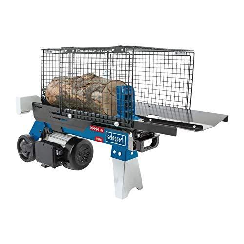 SCHEPPACH HL460 Hydraulikspalter Holzspalter bis 370 mm | 4 Tonnen Spaltkraft 4t | Brennholzspalter...