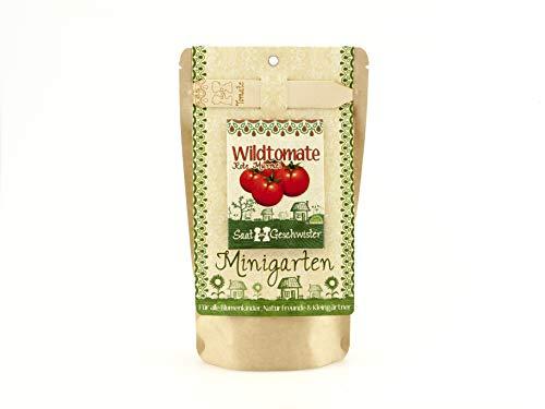 Die Stadtgärtner Minigarten Wildtomate'Rote Murmel' | Komplettes Anzuchtset für rote, leckere...