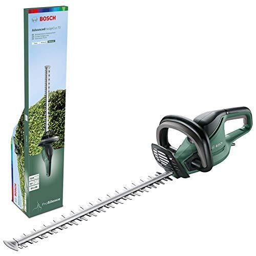 Bosch Heckenschere AdvancedHedgecut 70 (500 Watt, Messerlänge: 70cm, für große Hecken,...