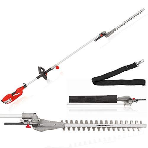 Grizzly Tools Langstiel Heckenschere EHS 900 W - Leistungsstärkste Langstiel-Heckenschere - 44cm...