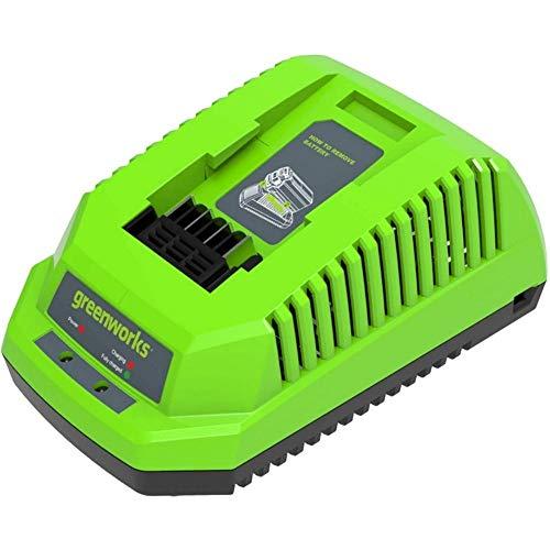 Greenworks Tools Akku-Schnellladegerät G40C (Li-Ion 40 V 4A 60 min Ladezeit bei 2Ah Akku passend...