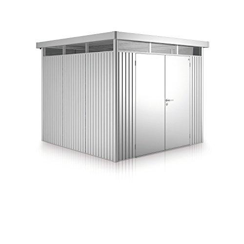 Biohort Metall Gerätehaus HighLine mit Doppeltür