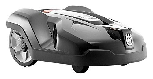 Husqvarna Automower 420 Mähroboter (3 frei schwingende Messerklingen, 19 Tasten, Timer, 58 dB(A))...