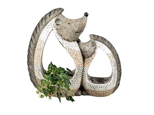 formano Gartenfiguren Pflanzgefäß Kieselstein Optik Eule Katze Hund Schildkröte Frosch oder...