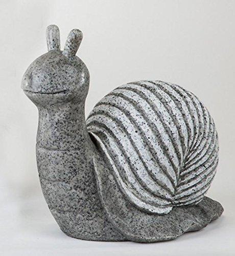 Gartenfigur 'Schnecke', 35 cm, stone