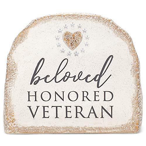 Grasslands Road Beloved Honored Veteran Bereavement Stone - Memory Stone - Memorial Stone - Memorial...