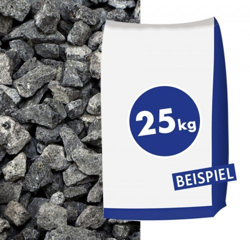 Hamann Mercatus GmbH Basaltsplitt Eifelschwarz 11-22mm 25kg Sack